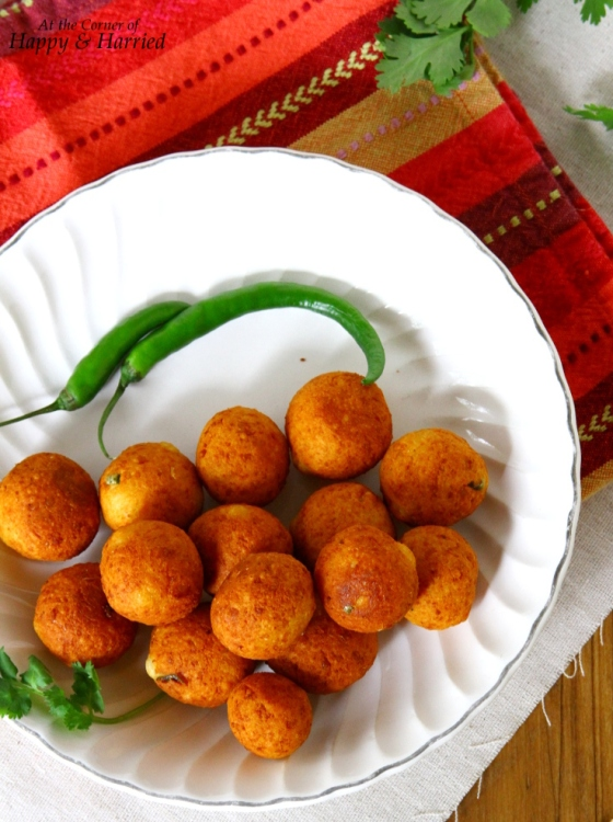 Paneer Kota (Spiced Cheese Balls)