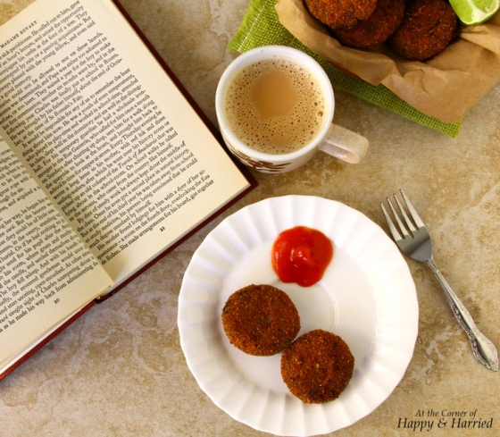 Tea Time Snack - Indian Meat Cutlets Or Croquettes
