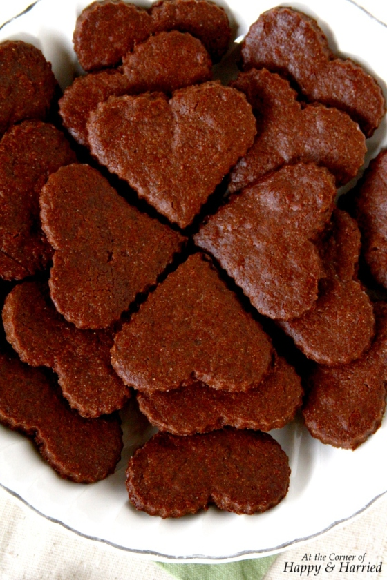 Chocolate Sugar Cookies (Made With Cocoa Powder)
