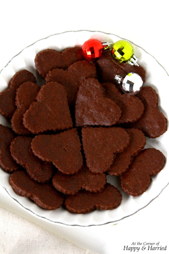 Chocolate Sugar Cookies With Cocoa Powder