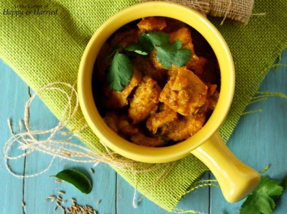 Spicy Chettinadu Chicken Curry
