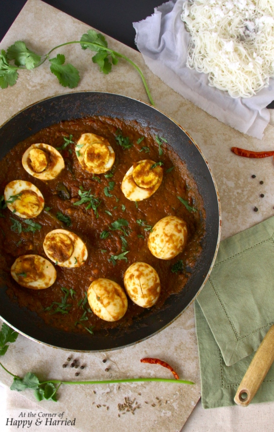 Spicy Egg Vindaloo Curry
