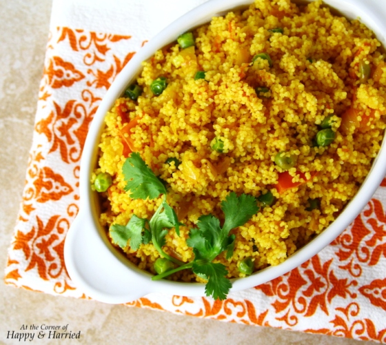 Spicy Vegetable Couscous Pulao