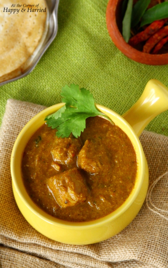 Succulent Chicken Cooked Chettinad Style