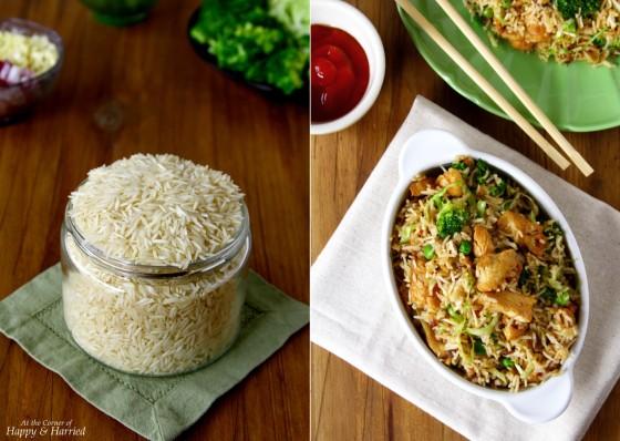 Chicken & Veggie Fried Rice