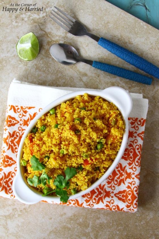Couscous Vegetable Pulao
