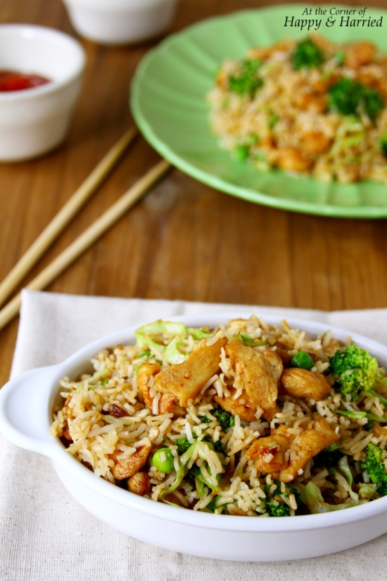Easy Chicken And Vegetable Fried Rice