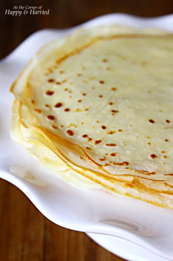 Homemade French Crepes