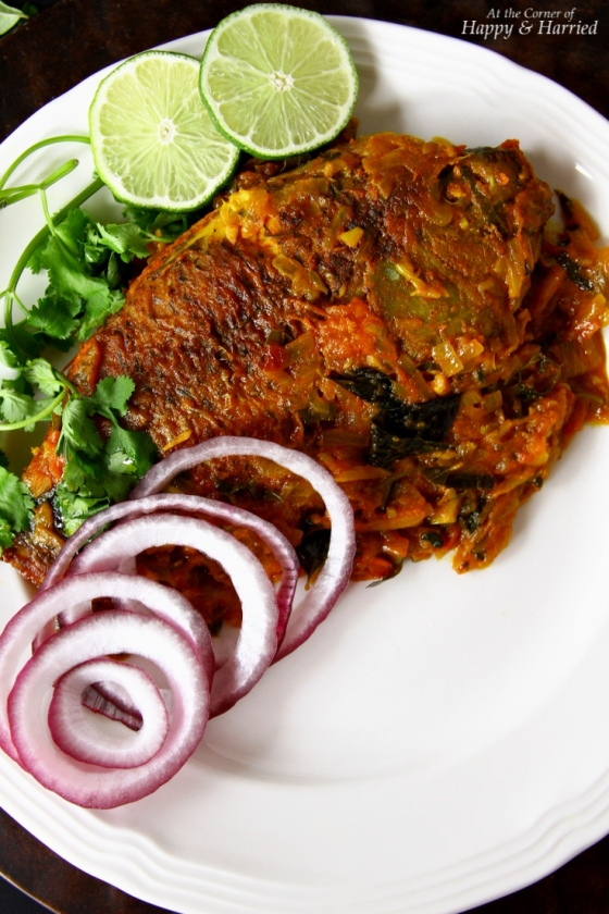 Meen Pollichathu or Baked Masala Fish Parcels