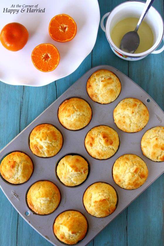 Orange Muffins (With Greek Yogurt)