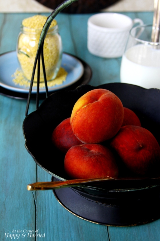 Poached Peaches
