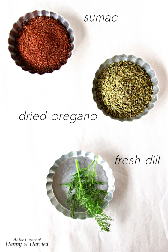 Sumac, Oregano & Dill For Gyros