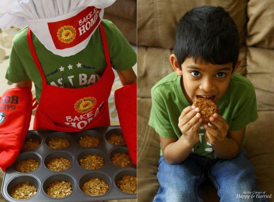 BakingWithBunches Granola Snackers