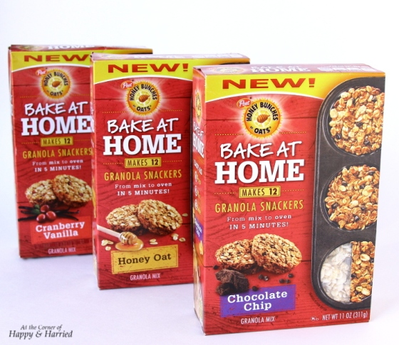 BakingWithBunchesGranola Snackers Flavors
