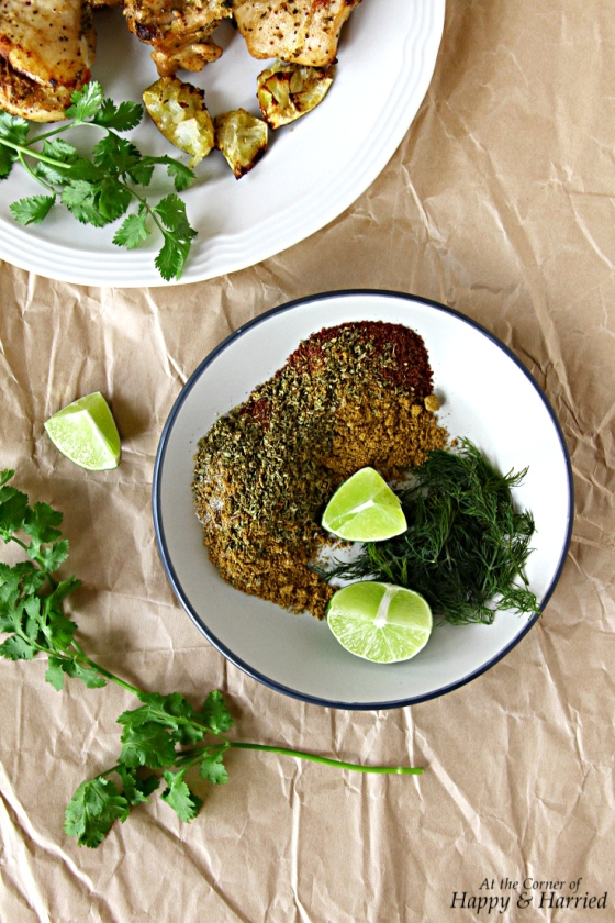 Chicken Dry Rub Marinade - Cumin, Oregano, Sumac, Dill