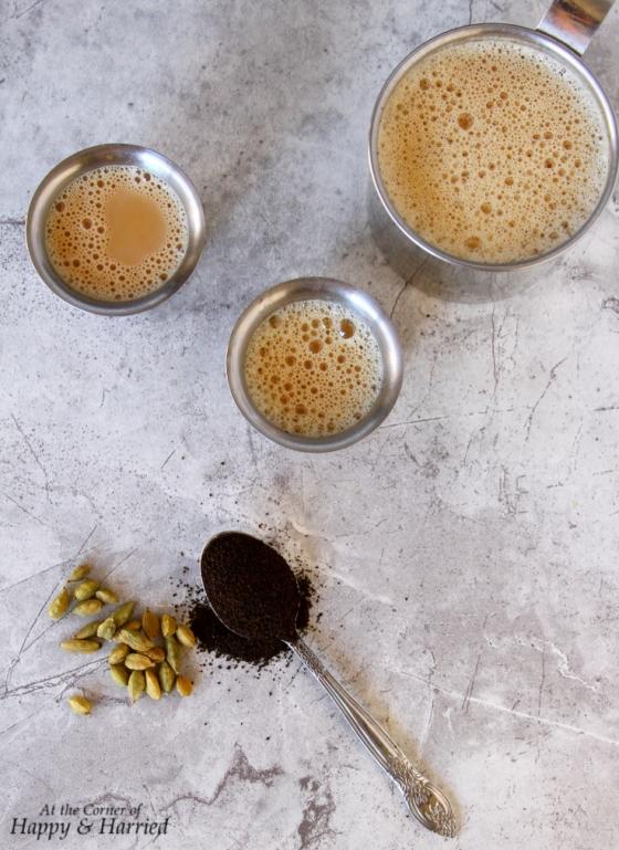 Elaichi Chai {Traditional Indian Cardamom Milk Tea}
