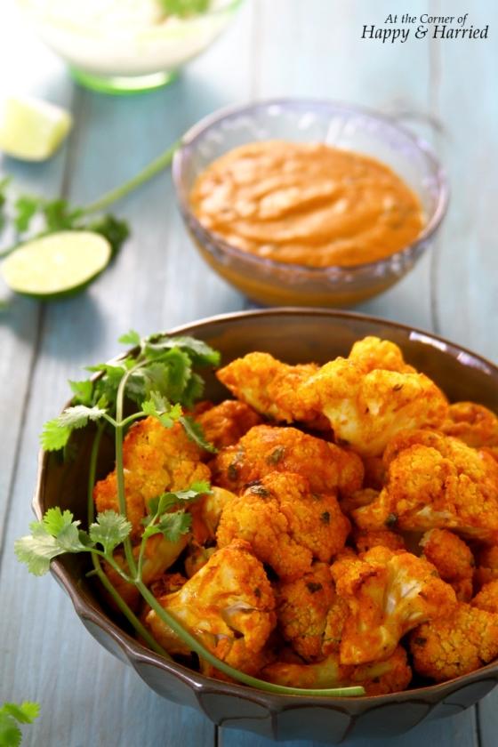 Oven Baked Tandoor or Tikka Cauliflower