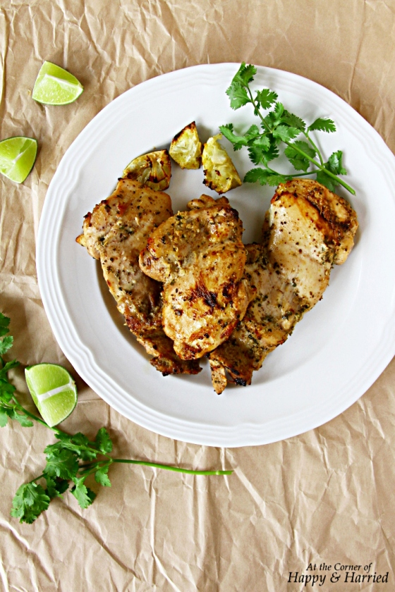 Oven Grilled Herbed Chicken (With Cumin, Oregano, Sumac And Lime)