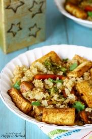 Quinoa, Tofu Stir Fry