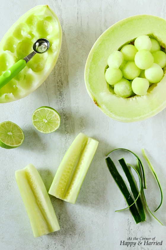 Honeydew Melon, Cucumber And Lime Popsicles   At the ...